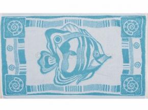 6с104.411ж1 Рыба-бабочка Полотенце махровое 67х40см