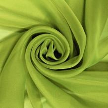 """Вуаль однотонная """"Шелли"""" MS 107/295 V травяной, ширина 295 см"""