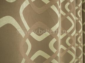Ткань блэкаут T HY 6533 ZGB-105/280 PJac BL бежевый, ширина 280см