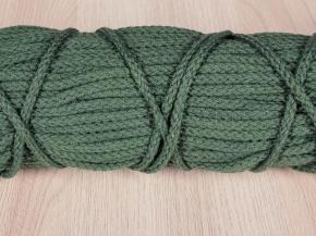 ШХ8-003-6 Шнур, D-3мм, х/б 100%, зеленый