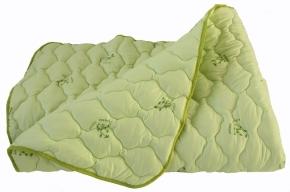 Одеяло тик/бамбук/стежка  300 гр. Евро  210*200
