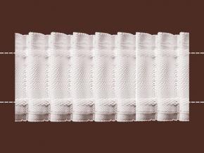 09С3597ПЭ-Г50 ЛЕНТА ДЛЯ ШТОР белый 40мм, параллельная (рул.50м)