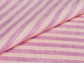 14с77-ШР. Наволочка верхняя 50*70 цв 16 полоска сирень с розовым