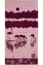 """6с102.413ж1 """"Фламинго"""" Полотенце махровое 81х160см"""