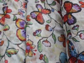 Вуаль Ariel лен печать MS 1624-01/280 LPech ut ширина 280 см