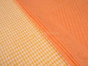 15с58-ШР/.уп. набор полотенец из 2-х шт 45*70 цв. оранжевый