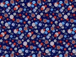 Фланель набивная халатная С525-ТИ рис. 21279/1 Василиса, 150 см