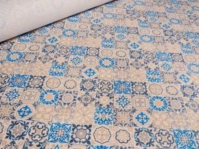 1739-БЧ (1076) Ткань х/б для столового белья набивная рис. 5167-01, ширина 150см