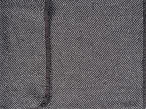 """17с8-ШР/039/у Накидка на кресло 100*200  """"Рубчик"""" цв. 106 темно-серый"""