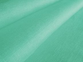 Ткань бельевая 05с-38 ЯК п/лен гладкокрашеный ментол, ширина 150см