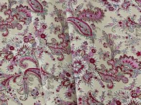 Ткань бельевая арт 06С-68ЯК рисунок 1102/4 ширина 150см