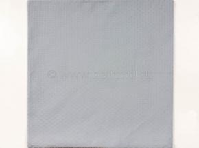 4265 Чехол декоративный для подушки 40*40 цв.голубой