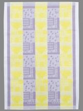 17С317-ШР 48*70 полотенце Кофе цв.27 лимон