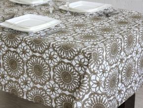 0937-БЧ (802) Ткань х/б для столового белья набивная рисунок 3822-01 ширина 145см