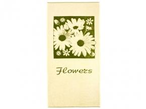 "4с82.111 67*150 ""Flowers-ромашка"" полотенце махровое"