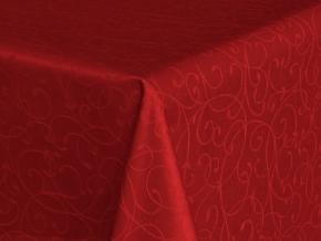 "Ткань скатертная арт.14С7SHT ""Мирелла"" рис 001 цвет 191663 бордо, ширина 310 см"