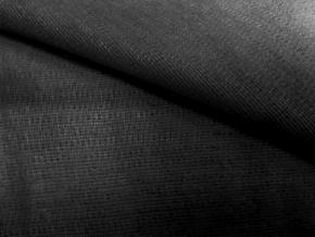 Материал прокл.трикотажный с термокл.покрытием пл.75-80гр/м2 (ПЭ-55%, Хл-45%) черный, арт.216/4