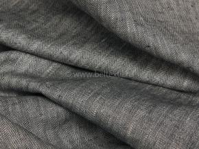 19С147-ШР+К+Х+У 3/1 Ткань костюмная, ширина 145, лен-100%