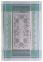 17с102-ШР 49*70 Полотенце Традиция 2 зеленый