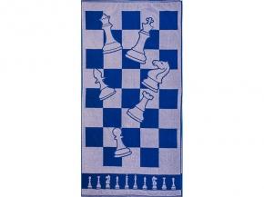 6с102.413ж1 Шахматы Полотенце махровое 81х160см