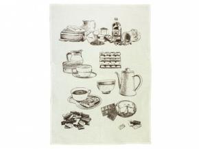 15с525-ШР 50*70 полотенце Какао