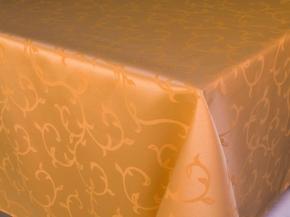 1809В-01 Скатерть 03С5-кв 1927/060305 260*148 цвет золотой