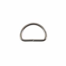 Полукольцо металл 25мм (2,8мм) никель (уп.500шт)