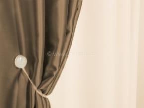 Ткань блэкаут C94 MIRA LIFE цв. 26 молочный, бронзовый, 300см
