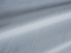 Ткань отбеленная  п/э 100% микрофибра Арабеско ш-220 см тиснение рисунок 0040 white C