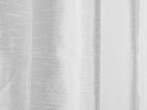 Тафта портьерная T EL FSilk-01/300 PTaf белый, ширина 300см