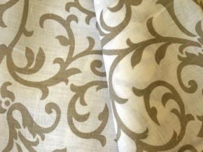 09С52-ШР+П 2/21 Ткань скатертная, ширина 150 см, лен-100