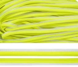 Кант световозвращающий 3мм (коэф.св.270 кд/лк.м2) лимонный (рул.100м)
