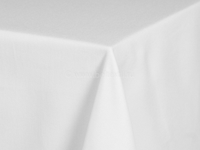 0671303/032 Ткань скатертная Респект атласная, цв. оптически белый+МАПС