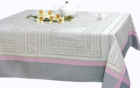 """16С383-ШР 150*200 Скатерть """"Гречанка"""" цв. 4  розовый"""