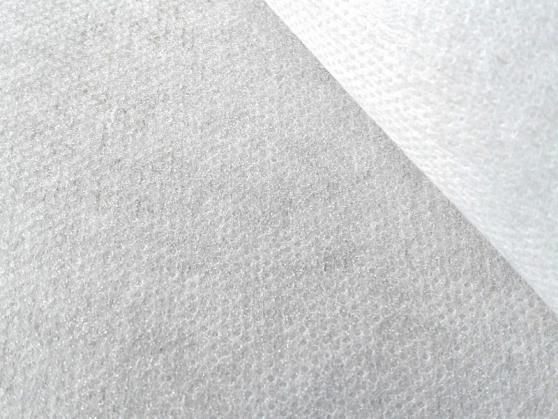 Флизелин белый клеевой джерси творожок