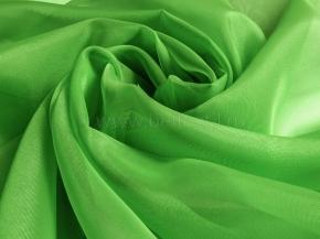 Вуаль однотонная ZN 43/300 V зеленое яблоко, ширина 300см