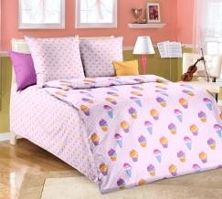1130 КПБ 1.5 спальный Лакомка розовый
