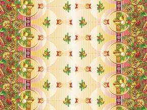 Полотно вафельное набивное грунт рис. 20283/1 Вечерок, ширина 150см