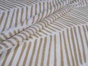 Ткань бельевая арт 175414 п/лен отб. набивная рис. 3684/1 Перья компаньон, ширина 220см