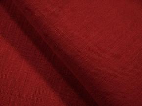 Ткань арт 176003 лен гладкокрашеный цвет Красное вино 6-8, ширина 150см