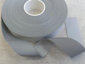 1303-2/25мм Лента СВ (Р/Е 380) серебро (рул.100м)