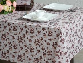 937-БЧ (802) Ткань х/б для столового белья набивная рис. 4683-01 Кофе, 145см