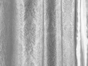 Ткань блэкаут T WJ 2017-07/280 P BL стальной, ширина 280см