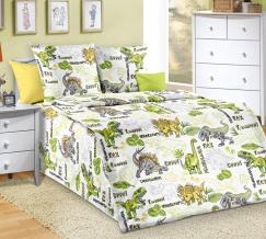 1100 КПБ 1.5 спальный Эра динозавров