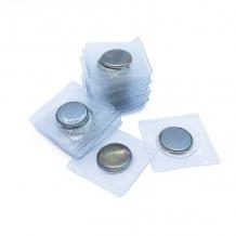 Кнопка магнитная пришивная (потайная) в ПВХ d10х2мм (уп.50шт/25пар)
