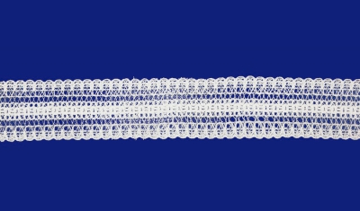 11С2554-Г50 КРУЖЕВО белый 32мм (рул.50м)