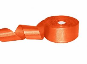 1С87У-Г50 ЛЕНТА АТЛАСНАЯ оранжевый*023, 34мм (рул.25м)
