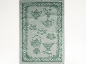 17с102-ШР 49*70 Полотенце Посуда-2 цв. зеленый
