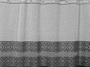 0.75м Д85АГ/75 ПОЛОТНО ГАРДИННОЕ белый с серым