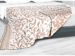 Одеяло хлопковое 170*205 жаккард 3/15 цвет бежевый